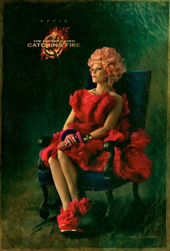 Official 'Catching Fire' Portraits - Effie Trinket
