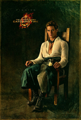 Official 'Catching Fire' Portraits - Finnick Odair