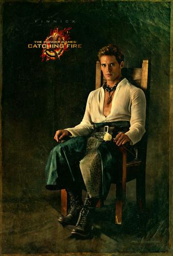 Official 'Catching Fire' Portraits - Finnick Odair
