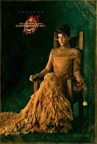 Official 'Catching Fire' Portraits - Johanna Mason
