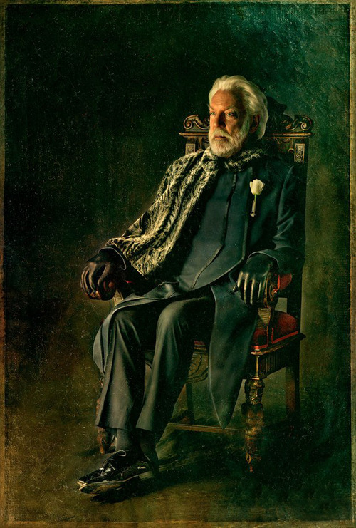 Official 'Catching Fire' Portraits - President Snow ...
