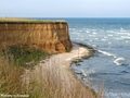 Olimp cliff Romania beach Black Sea coast beaches - romania photo