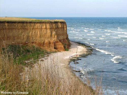 Olimp cliff Romania beach Black Sea coast beaches
