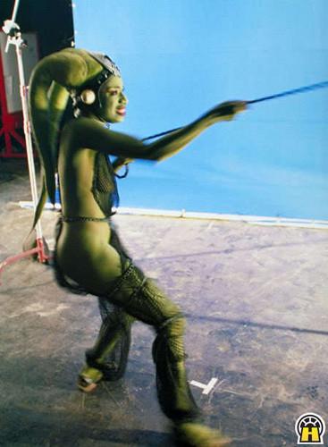 Oola - oola-jabbas-twilek-slave PhotoOola And Leia Submit To Jabba