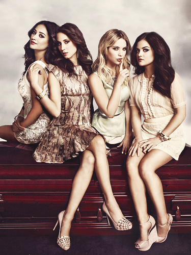 Pretty Little Liars TV دکھائیں پیپر وال entitled PLL