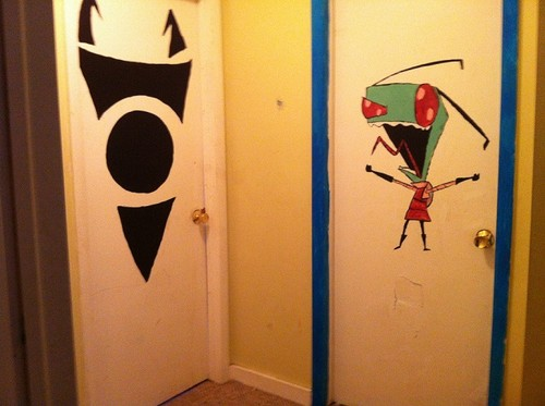 """Painted My Doors I""""M A FG 189!!"""