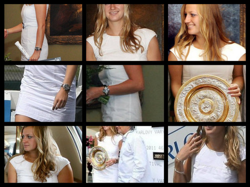 Petra Kvitova Wimbledon collection