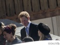 Prince Harry at his friend's wedding March 2013