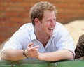 Prince Harry in Sentabele