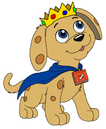 Prince anjing, anak anjing