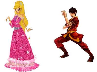 Prince Zuko and Princess Stella