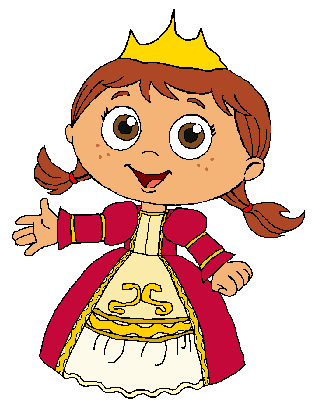 Super WHY  Princess Red