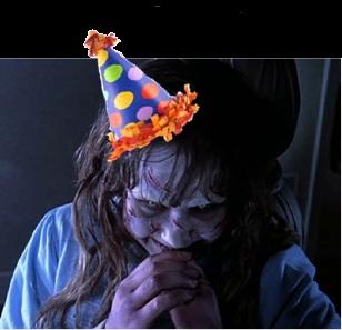 Regan at my party!