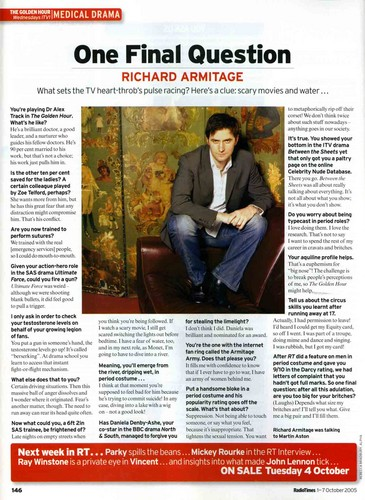 Richard Interview Scans