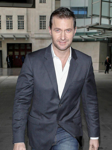 Richard leaving BBC Radio 1, London, 7th March