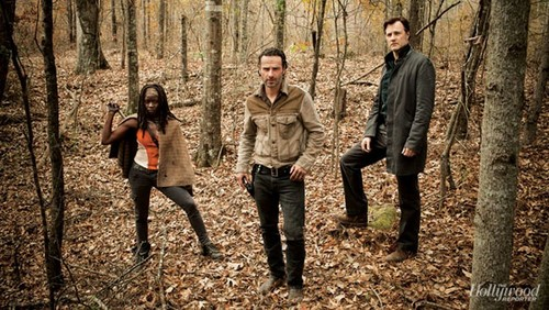 Rick Grimes,Michonne,The Governor