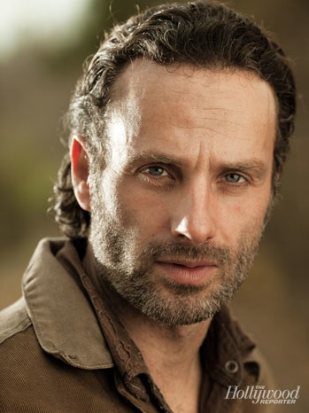 The Walking Dead kertas dinding probably with a portrait entitled Rick Grimes