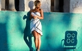 Rihanna ELLE 2012 BTS - rihanna wallpaper