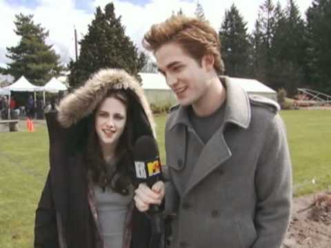 Rob&Kristen's 1st MTV Twilight interview-2008