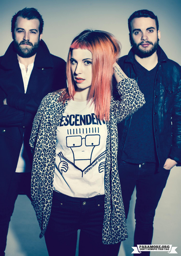 Rock Sound magazine photoshoot