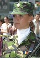 Romanian woman soldier Romania Army people - romania photo