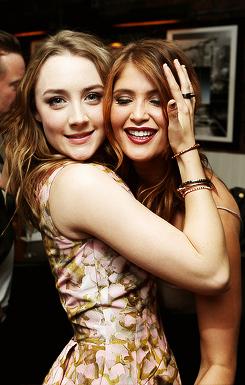 Saoirse Ronan and Gemma Arterton
