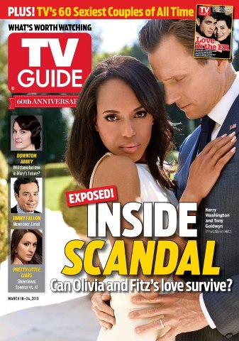 skandal cover of this week's issue of TV Guide Magazine on sale this Thursday!