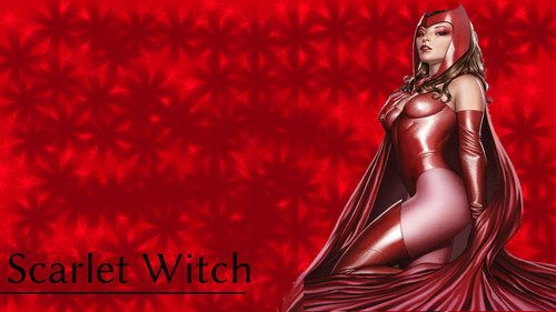 Scarlet Witch 壁紙