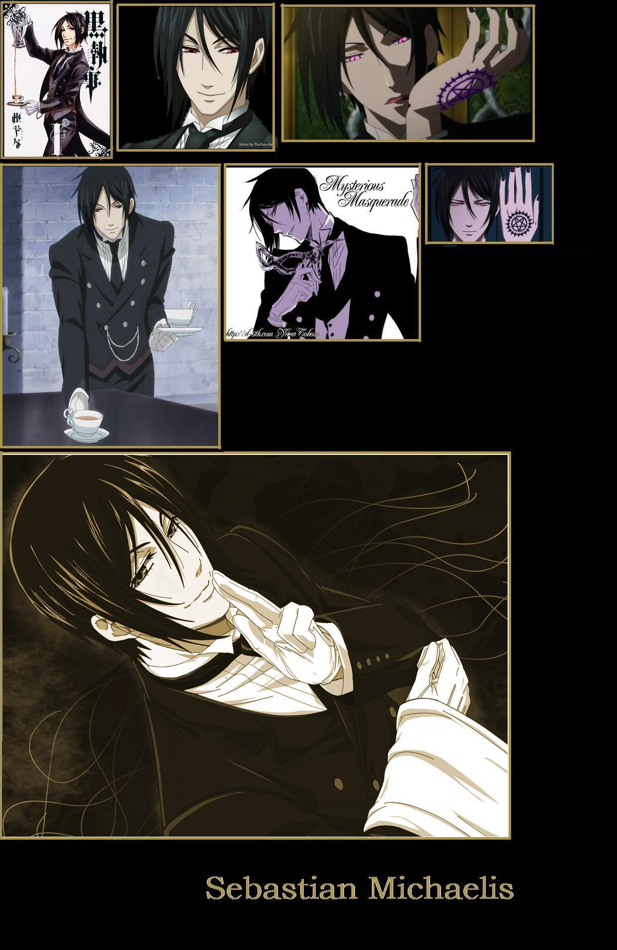 Sebastian Michaelis Golden Cover