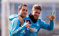 Sergio Ramos and Higuain