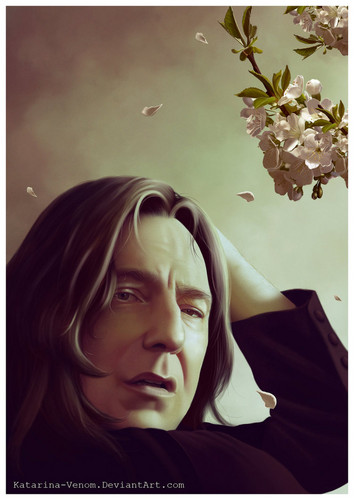 Severus Snape wallpaper entitled Severus_Spring_Time_
