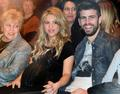 Shakira pregnant belly translucent shirt 2 - shakira-and-gerard-pique photo