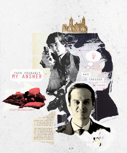 Sherlock & Moriarty