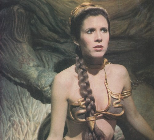 stella, stella, star Wars wallpaper called Slave Leia