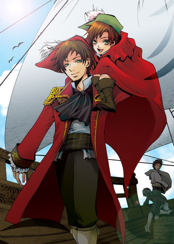 Hetalia Spain fond d'écran possibly with animé titled Spain ~