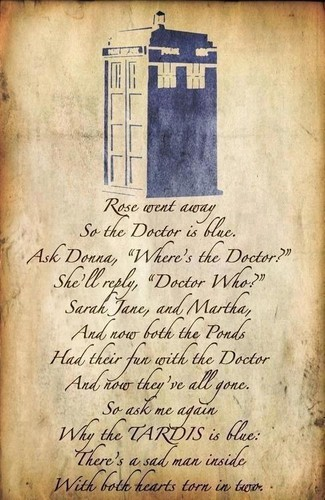 The Tardis kertas dinding entitled TARDIS