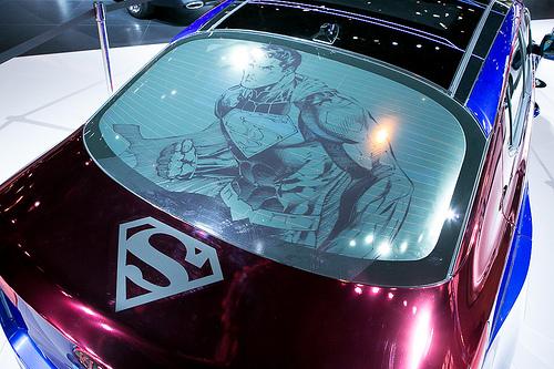 THE NEW スーパーマン CAR FROM KIA