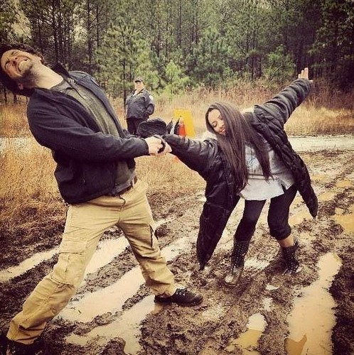 TVD // Behind the Scenes