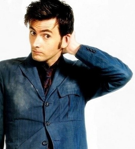 The Tenth Doctor wallpaper probably containing a well dressed person, a suit, and a business suit entitled Ten