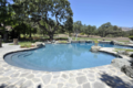 The Backyard Swimming Pool At Neverland Ranch - michael-jackson photo