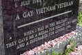 The Gay Veteran  - gay-rights photo