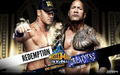 The Rock vs John Cena Wrestlemania 29 - wwe wallpaper