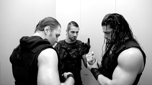 The Shield (WWE) wallpaper possibly containing a green beret, battle dress, and fatigues called The Shield