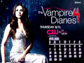 The Vampire Diaries (March-April) 2013 Calendars by me.... - the-vampire-diaries wallpaper