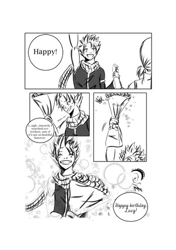 Fairy Tail Обои with Аниме called The flame of a rose: НаЛю