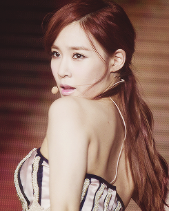 Girls Generation/SNSD wallpaper possibly with attractiveness, a portrait, and skin called Tiffany ~♡