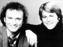 Tony Geary and Kin Shriner.
