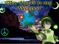 Toph Wields the Earth - avatar-the-last-airbender fan art