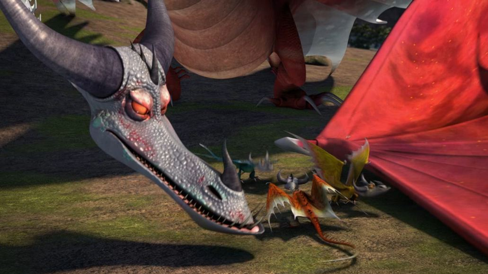 DreamWorks Dragons: Riders of Berk images Torch's family ...