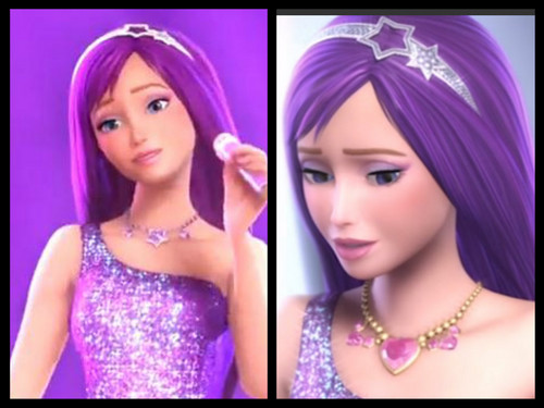 Barbie the Princess and the popstar wallpaper with a portrait called Tori ,Kiera